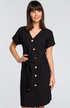BE B111 sukienka czarna