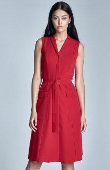Nife S72 sukienka czerwona