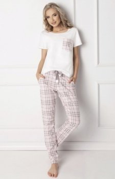 Aruelle Londie Long White Piżama