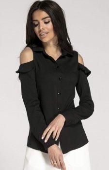 Elegancka koszula z wyciętymi ramionami NA1014