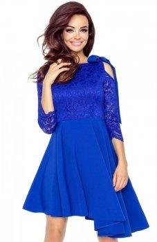 Bergamo 78-01 sukienka chabrowa