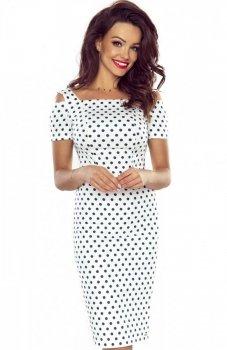 *Bergamo Roxi sukienka biała