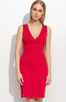 Makadamia M308 sukienka czerwona