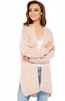 Lemoniade LS211 sweter pudrowy róż