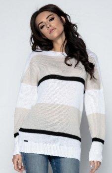 Fobya F483 sweter beżowy