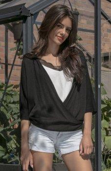 Fobya F546 bluzka czarna