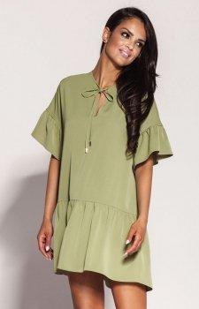 Dursi Lila sukienka zielona