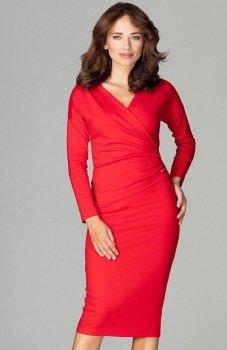Lenitif K477 sukienka czerwona
