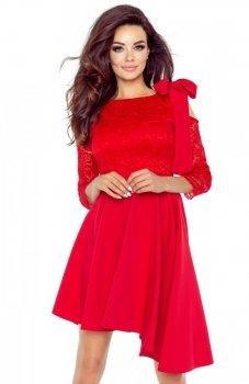 Bergamo 78-05 sukienka czerwona