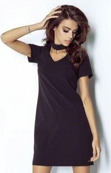 Ivon 204 Elena sukienka czarna