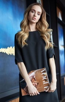 Style S113 sukienka czarna