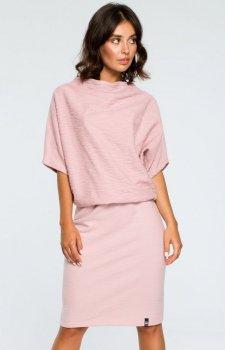 BE B097 sukienka różowa