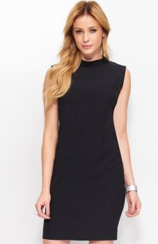 Makadamia M395 sukienka czarna