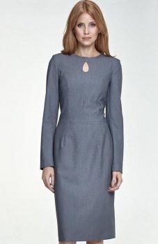 Nife S79 sukienka szara