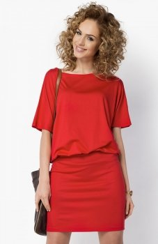 Makadamia 017 sukienka czerwona