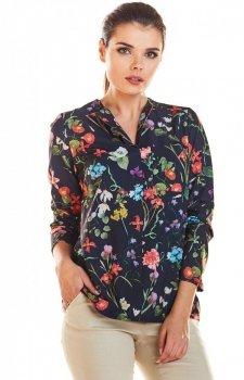 Bluzka w kwiaty M193