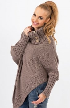 *Makadamia S09 sweter cappucino