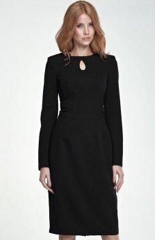 Nife S79 sukienka czarna