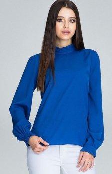 Figl M595 bluzka niebieska