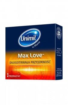 Unimil box 3 max love prezerwatywy