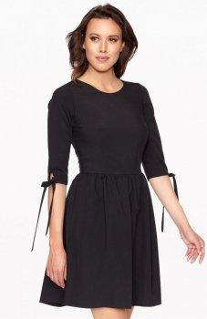 Lapasi L024 sukienka czarna