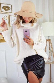 Carmel Zafira sweter kremowy