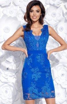 Bicotone 2163-05 sukienka chabrowa