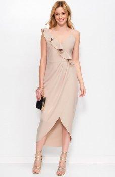 *Makadamia M396 sukienka cappucino