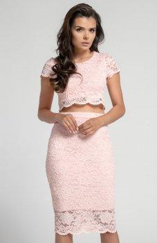 Nommo NA563 spódnica pudrowy róż