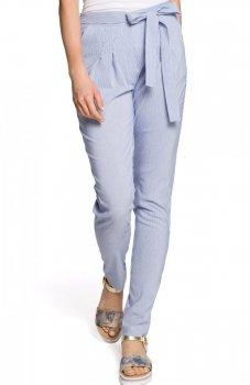 Moe M318 spodnie niebieskie