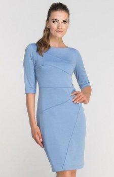 Lanti SUK146 sukienka błękitna