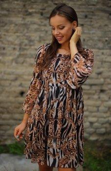 Roco 0216 sukienka wzór