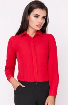 Nommo NA226 koszula czerwona