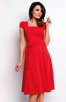 Nommo NA401 sukienka czerwona