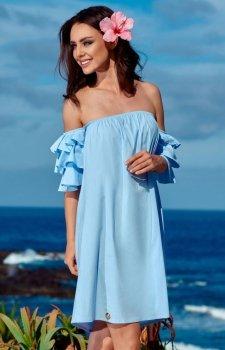 Lemoniade L252 sukienka błękitna