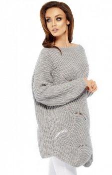 *Lemoniade LS209 sweter szary