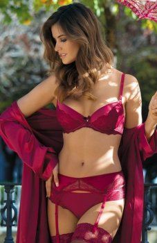Kinga Ruby I PU-415 biustonosz push-up