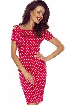 Bergamo Roxi sukienka czerwona