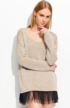 Makadamia S36 sweter cappucino