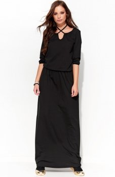 *Folly F25 sukienka czarna