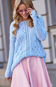 Makadamia S60 sweter błękitny