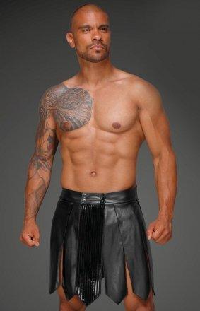 Skórzana spódnica gladiator męska H053