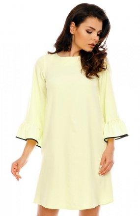 Nommo NA199 sukienka żółta