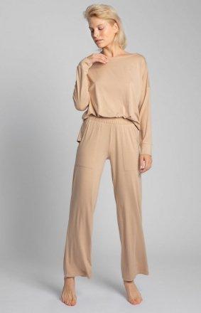 Spodnie do spania z szerokimi nogawkami LA028