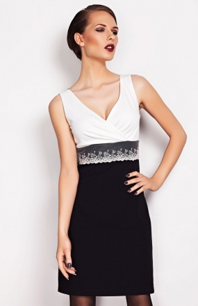Vera Fashion Marie sukienka ecru
