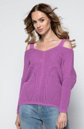 FIMFI I241 sweter fuksja