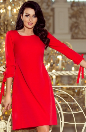 Numoco 195-4 sukienka czerwona