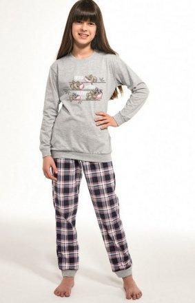 Cornette Kids Girl 594/117 Koala dł/r 86-128 piżama dziewczęca