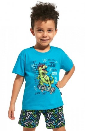 Piżama Cornette Kids Boy 789/66 Dinosaur kr/r 86-128