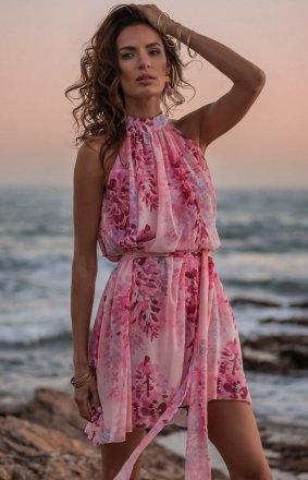 Letnia szyfonowa sukienka Liv